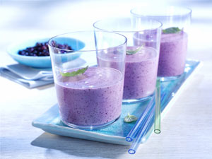 Breast Cancer Healing Blueberry Smoothie